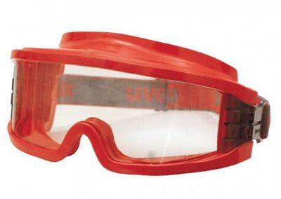 Occhiali per operatore antincendio